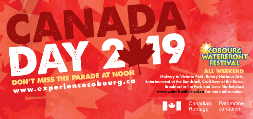 Canada Day 2019 presented by the Town of Cobourg
