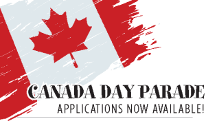 Canada Day Parade applications now available
